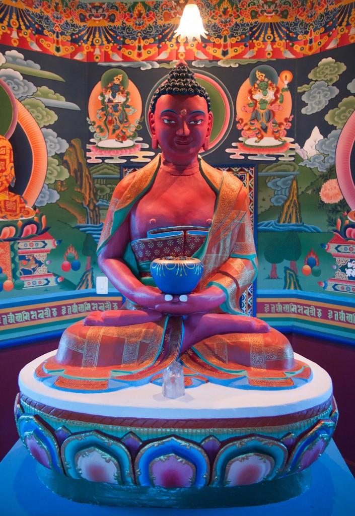 Primeiro templo tibetano
