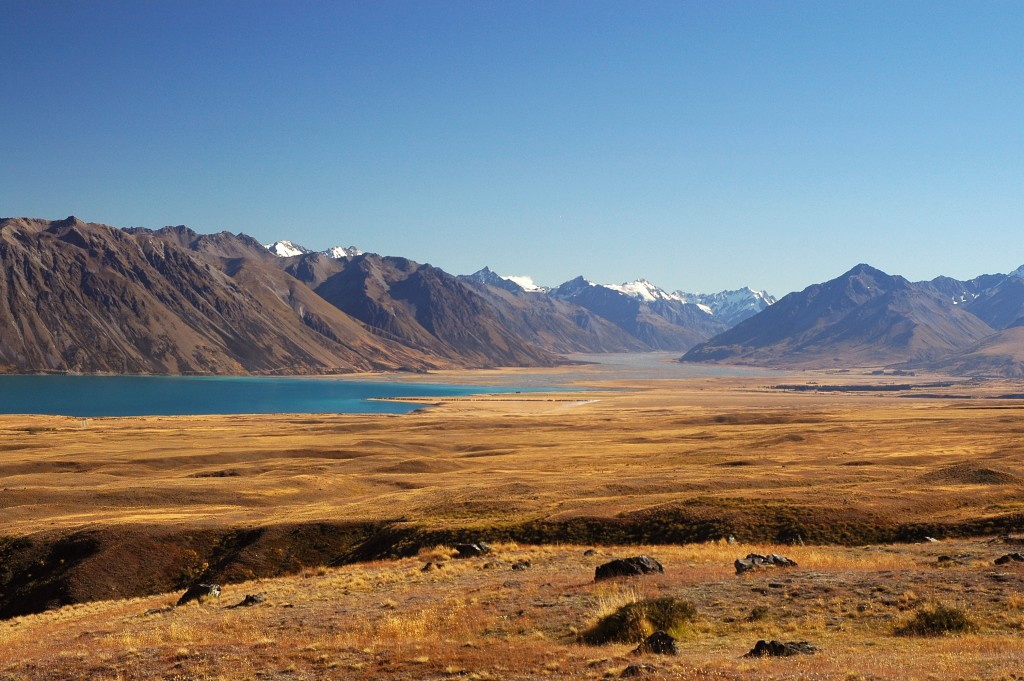 Lake Tekapo in the Mackenzie Country, South Island, New Zealand