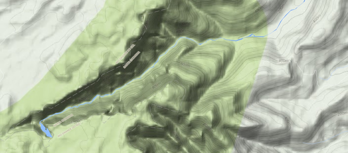 Topografia Google Maps