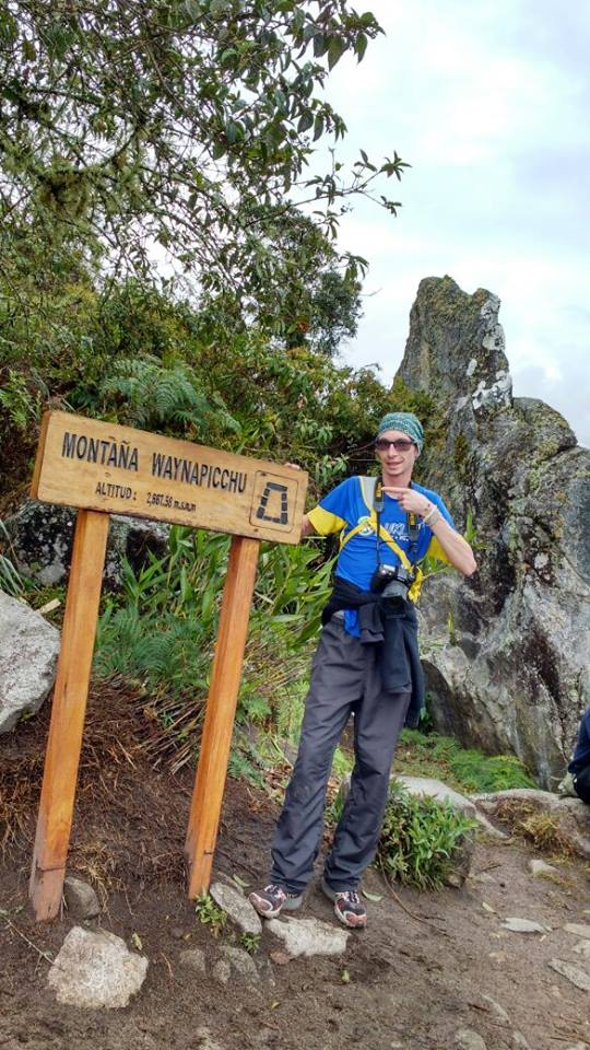 Cume da montanha de Waynapicchu
