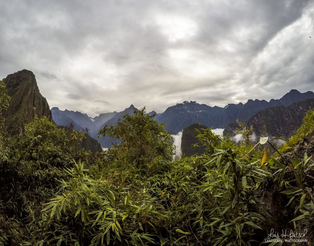 Waynapicchu landscape