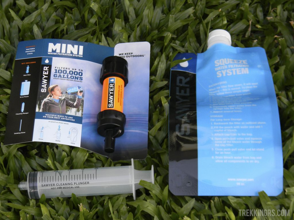 Mini Sawyer - kit completo