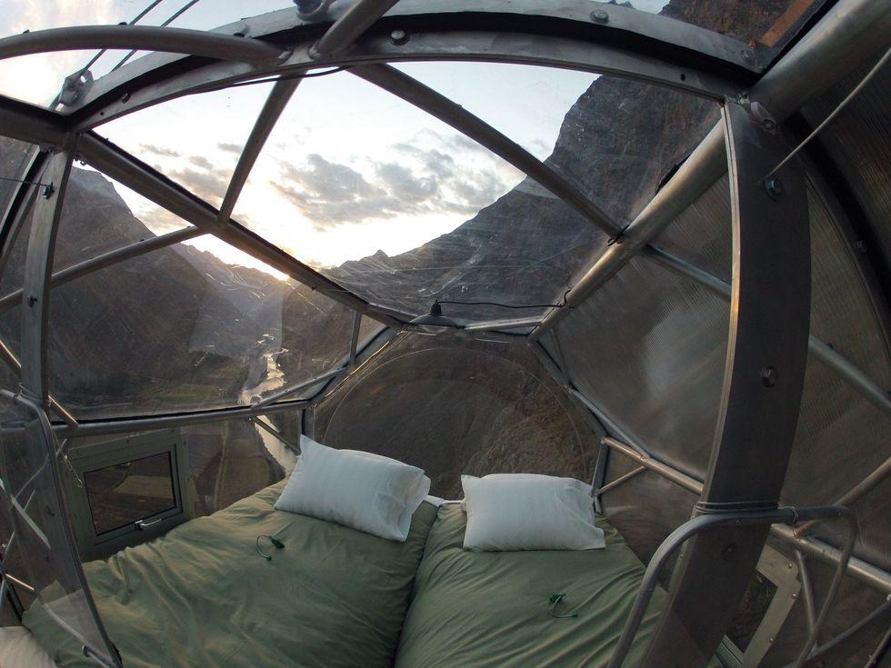 Skylodge Adventure cúpula 400m