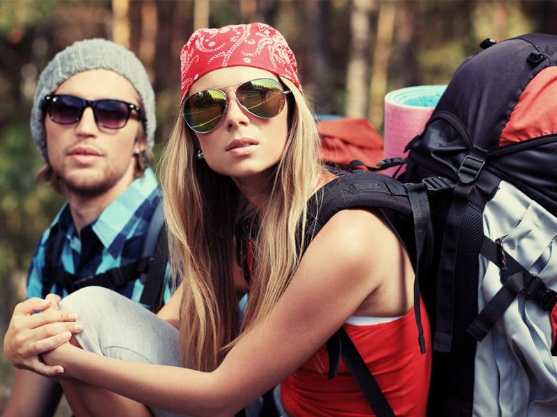 Benefícios de viajar com uma mochila