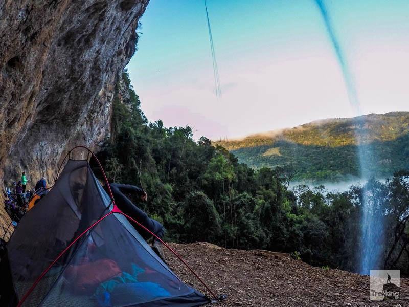 acampar na serra gaúcha