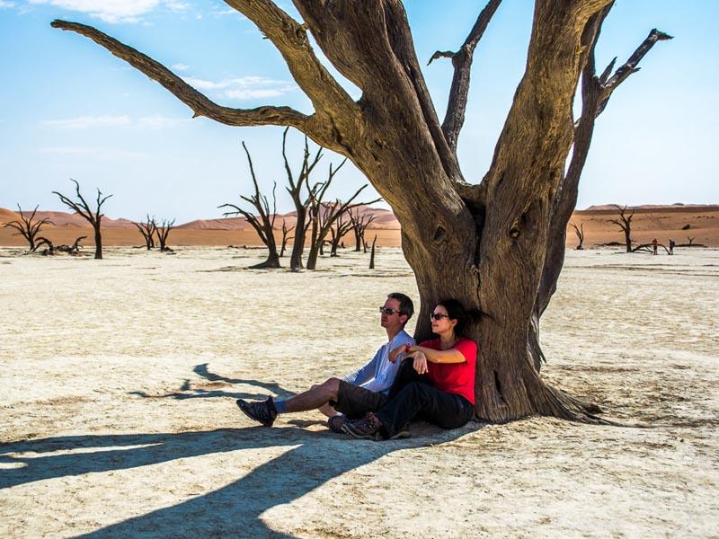 Deserto de Namíbia