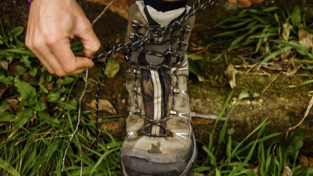 amarrar a bota